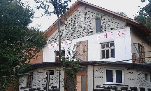 Gemeinschaftshaus Amaro Kher in Kriva Palanka, Nordmazedonien